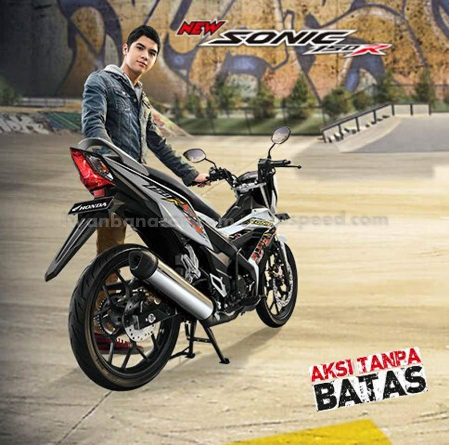 Spesifikasi Harga Warna Dan Fitur New Honda Sonic 150r Dohc Racing Red Jakarta 1s 150