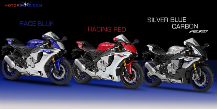 yamaha r1 2015 colors