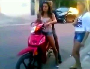 abg naik motor