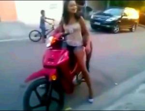 belajar naik motor