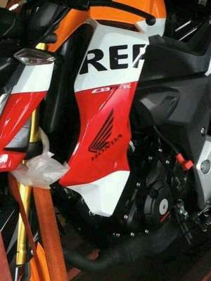 New CBF190R 2015 Honda