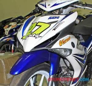 Sokbreker depan Yamaha 125Z