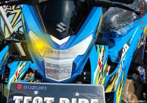 Satria fu 150 fi injeksi versi motogp 2015