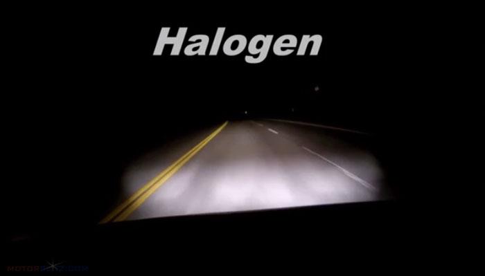 Halogen Headlamp test