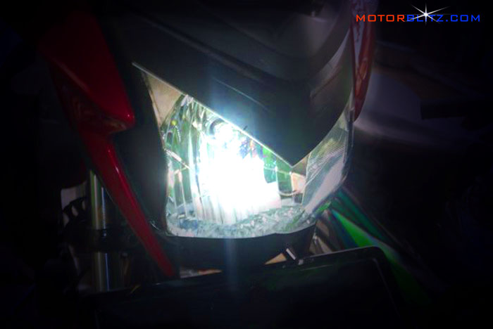headlamp led motor