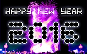 kartu tahun baru year 2016