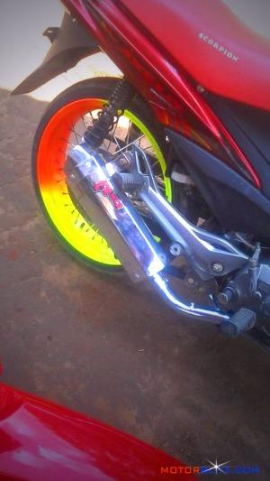 motor roda jari jari