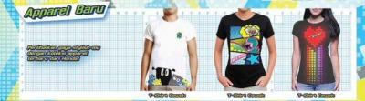 asesoris tshirt kaos beat 2016