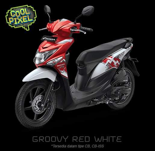 Modifikasi Motor Beat Pop Merah Putih Untouchable My Journey