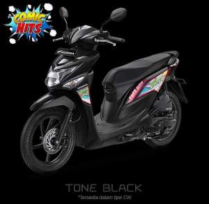 beat pop 2016 hitam black comic hit