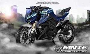 modifikasi Yamaha Xabre 150 M-Slaz (3)