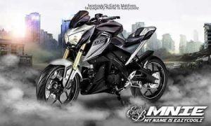 modifikasi Yamaha Xabre 150 M-Slaz (4)