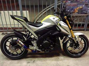 modifikasi Yamaha Xabre 150 M-Slaz (5)