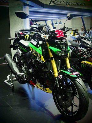 modifikasi Yamaha Xabre 150 M-Slaz (6)