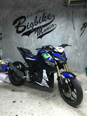 modifikasi Yamaha Xabre 150 M-Slaz