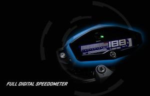 xabrenegatif lcd digital speedometer