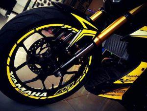 yellow kuning modifikasi Yamaha Xabre 150 M-Slaz (10)