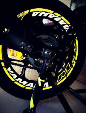 yellow kuning modifikasi Yamaha Xabre 150 M-Slaz (11)