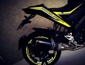 yellow kuning modifikasi Yamaha Xabre 150 M-Slaz (12)