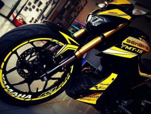 yellow kuning modifikasi Yamaha Xabre 150 M-Slaz (13)