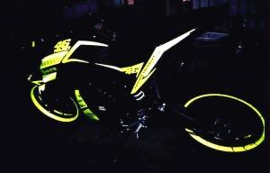 yellow kuning modifikasi Yamaha Xabre 150 M-Slaz (16)