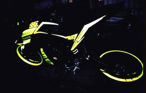 yellow kuning modifikasi Yamaha Xabre 150 M-Slaz (16)