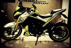 yellow kuning modifikasi Yamaha Xabre 150 M-Slaz (20)