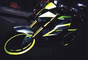 yellow kuning modifikasi Yamaha Xabre 150 M-Slaz (21)
