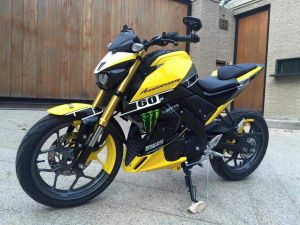 yellow kuning modifikasi Yamaha Xabre 150 M-Slaz (3)