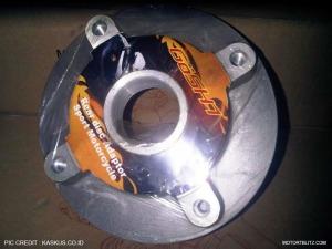 adaptor cakram belakang motor