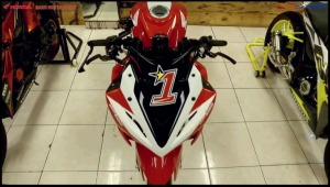 modifikasi cbr150r 2016 Racing Red Concept 11