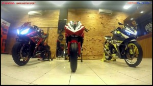 modifikasi cbr150r 2016 Racing Red Concept 22