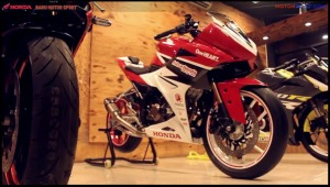 modifikasi cbr150r 2016 Racing Red Concept 3