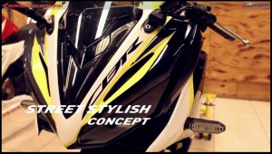 modifikasi cbr150r 2016 Street Stylish Concept