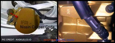 Nissin caleper code