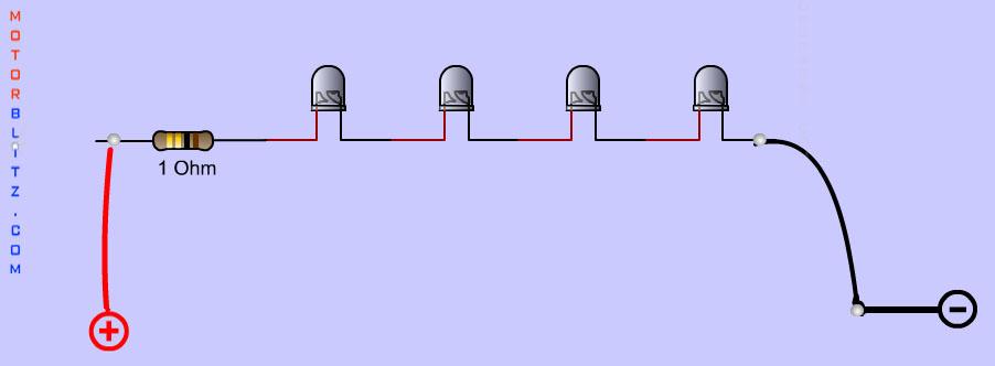 1-rangkaian-4-led