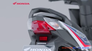 2016 All new honda beat esp lampu belakang main