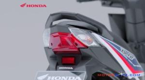 2016 All new honda beat esp lampu belakang main