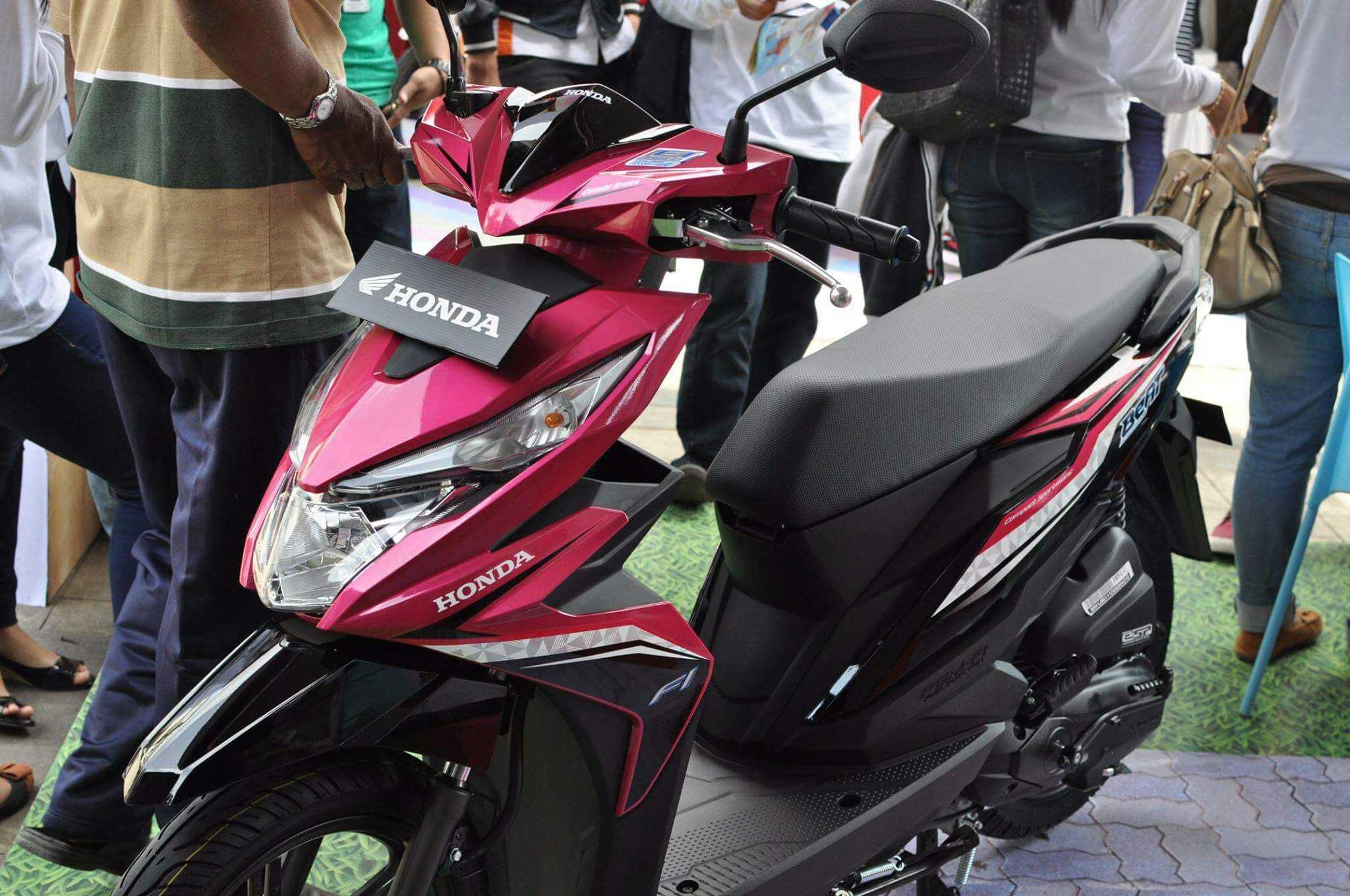 Harga Jual Honda Beat Fusion Magenta Black Vario Matte All New Sporty Esp Cbs Iss Electro Blue White Kota Semarang 99 Gambar Motor 2017 Terbaru