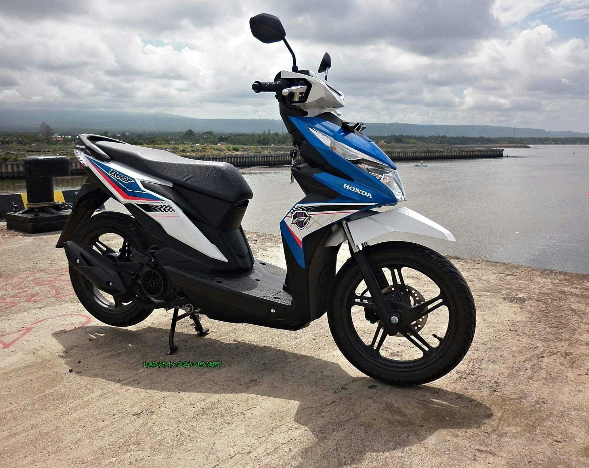 Harga Jual Honda New Beat Navi Vs Grom Comparison Why All Sporty Esp Cbs Iss Electro Blue White Kota Semarang Modifikasi Motor