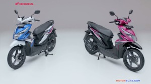 All new honda beat esp biru pink