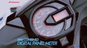 All new honda beat esp digital speedometer