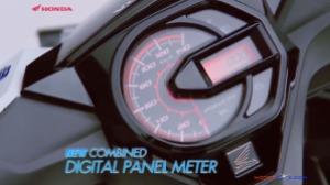 All new honda beat esp digital speedometer