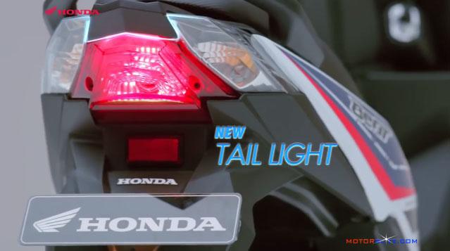 All new honda beat esp lampu rem