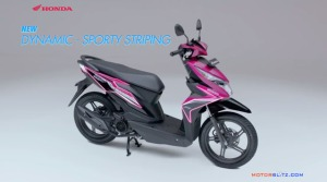 All new honda beat esp striping dynamic