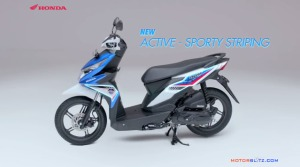 All new honda beat esp striping sport
