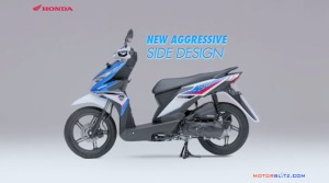 All new honda beat esp tampak samping