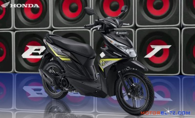 All new honda beat esp warna hitam 2