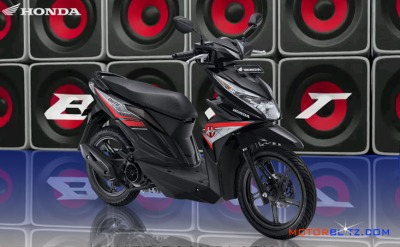 All new honda beat esp warna hitam