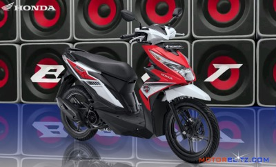 All new honda beat esp warna merah